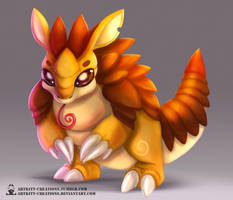 Kanto - Sandslash by ArtKitt-Creations
