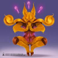 Kanto - Alakazam by ArtKitt-Creations