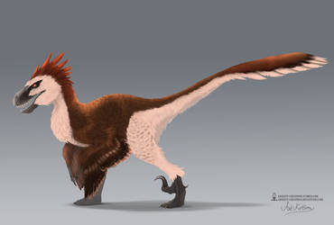 Concept - Giant Raptor by ArtKitt-Creations