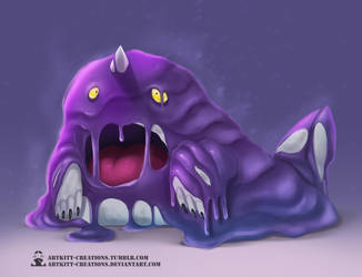 Kanto - Grimer by ArtKitt-Creations
