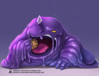 Kanto - Muk by ArtKitt-Creations