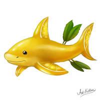 creature doodle #10 lemon shark by ArtKitt-Creations
