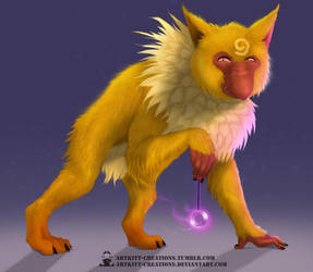 Kanto - Hypno by ArtKitt-Creations