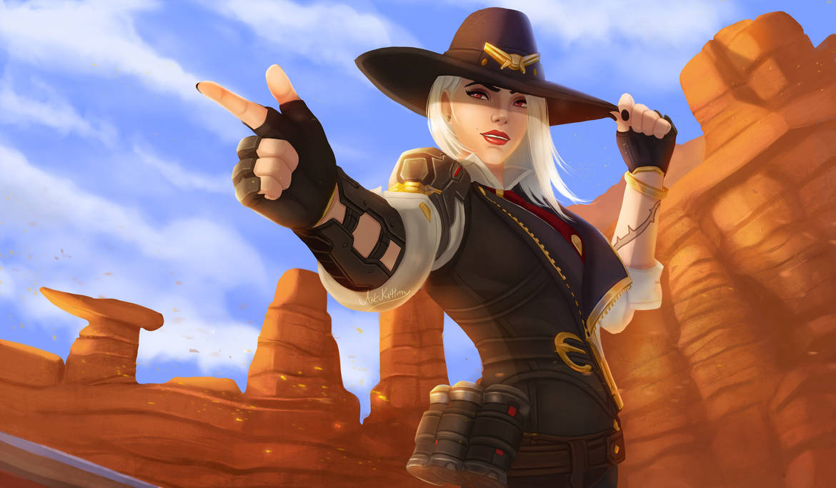 Ashe by ArtKitt-Creations