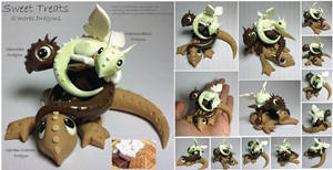 S'mores Dragons by lizzarddesigns