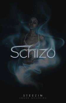 Schizo | Wattpad Cover by miserableyouth