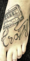 Crazy tattoo by 2Face-Tattoo