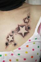 Little New Star Tattoo by 2Face-Tattoo