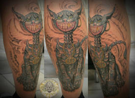 ceshire the cat final by 2Face-Tattoo