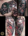 Joker Scarface Gamble stuff by 2Face-Tattoo