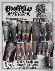 Guestspot 2Face @Goodfellas Tattoo Art Studio CA by 2Face-Tattoo