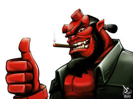 Hellboy by Raphooo2014