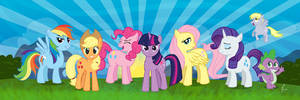 Friendship is Vector Magic by pixlem
