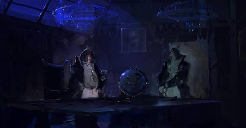 Guillermo del Toro by cesarsampedro