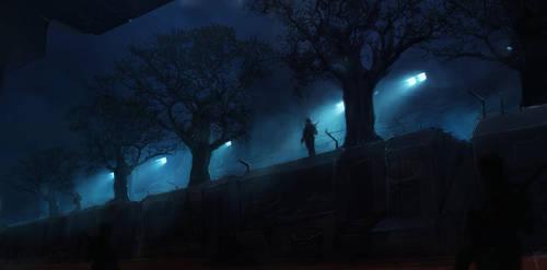 Tree Train by cesarsampedro