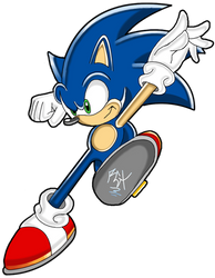 Sonic Channel Rocket Kick by RGXSuperSonic