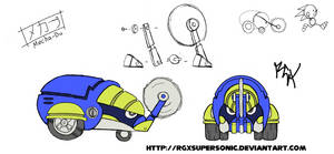 Project Needlemouse concept by RGXSuperSonic