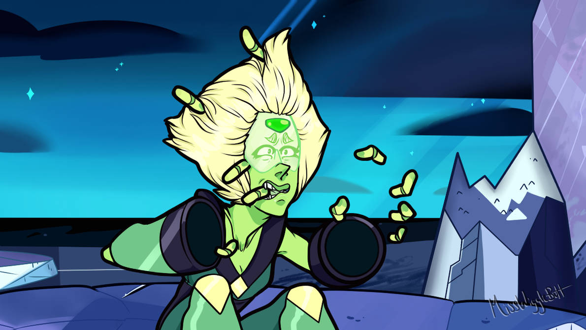 With the last few ep's surrounding peridot (and considering that last night's ep will be the last one we get for this year ;H I wanted to do some fanart! And I always loved this moment here S...