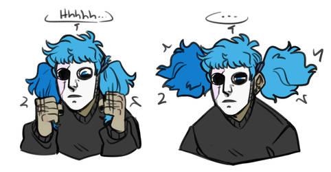 Sally Face- Stress by MissWiggleButt