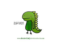 rawr. haha by haneiMJ