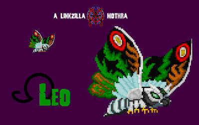 Mothra Leo 2.0 Custom Sprite by Linkzilla