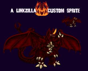 Destroyah Final Custom Sprite by Linkzilla