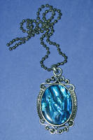 Blue pendant stock by lillyfly06-stock