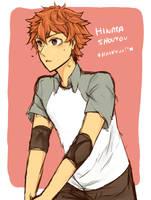 Hinata Shouyou [Haikyuu] by BRNG7