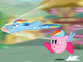 Great race with Kirby by KingToby19