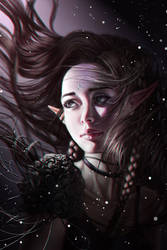 Snofrid (+ step-by-step images) by Aoleev