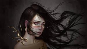 Laburnum by Aoleev