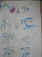 Pachirisu and Pikachu PMD3 Page 26 by AnjuSendo