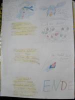 Pachirisu and Pikachu PMD3 Last Page by AnjuSendo