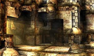 Castle Ruins by Les-Monts