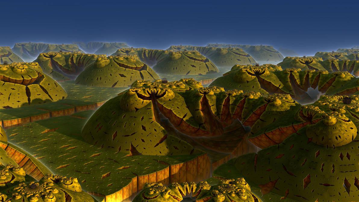 Earthsplit by Les-Monts