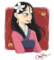 Mulan by poipoi39