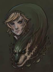 Link-Wolf by hozeanjiru