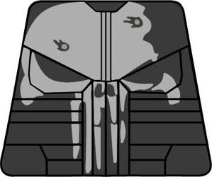 Marvel's the Punisher Lego Minifigure Decal by AFlahrman