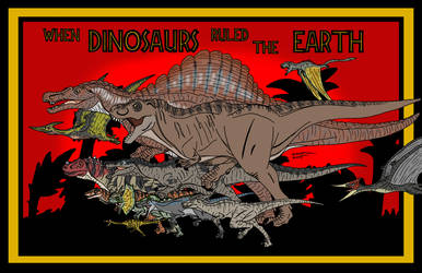 When Dinosaurs Ruled the Earth by AFlahrman