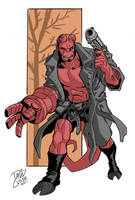 Hellboy by davidjcutler