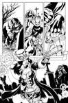 Helsing #1 Zenescope tryout page by davidjcutler