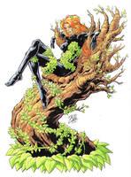 Poison Ivy - new 52 by davidjcutler
