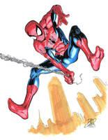 Spider-Man commission by davidjcutler