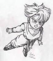 Trunks - Sketch #4 by Jaylastar