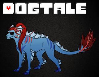 U/AU: Undyne [Dogtale] by KasaTheDog