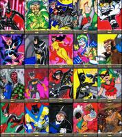 Batman the Legend set 2 by KidAntipathy