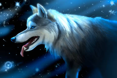 Space Wolf by EpicSaveRoom