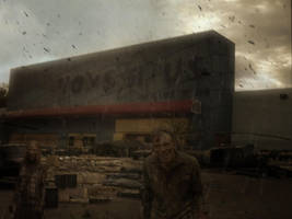 Zombies At Toys R Us by bobbyboggs182
