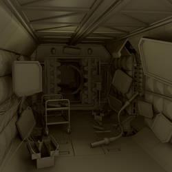 Space Corridor -4 by vips110