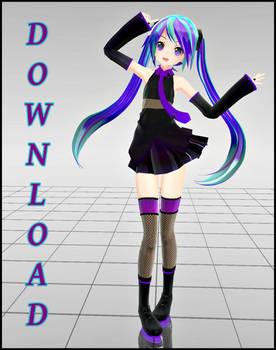 Appearance Sweet Devil Miku .:DL!:. by Emiria-kun